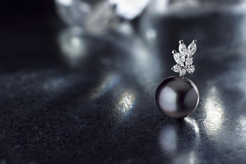 Collection 1885 pend perle de tahiti Rambaud