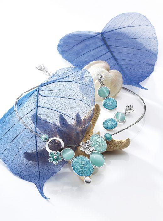 Parure bleue Ikita-Creapole